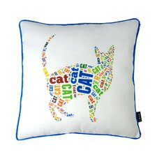 Spell Cat Polyester Pillow