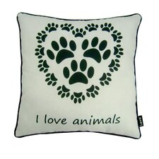 Love Animals Polyester Pillow
