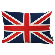 British Flag Feather Filled Throw Pillow