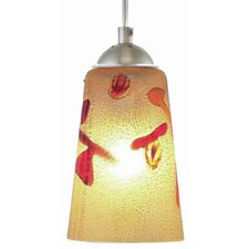 Carnevale 1 Light Line Voltage Pendant
