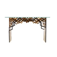 Zagi Console Table and Mirror Set