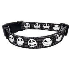 Disney Jack Skellington Nylon Dog Collar