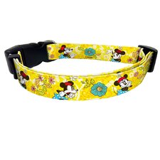 Disney Minnie Mouse Nylon Dog Collar