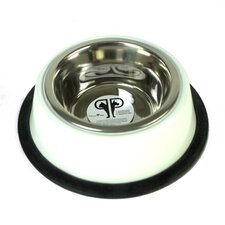 Two Piece Dog Bowl with Skid Stop