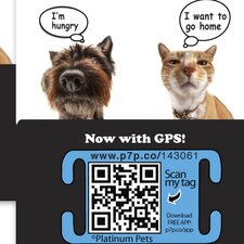 The Original Smartphone Collar ID Cat Tag with GPS