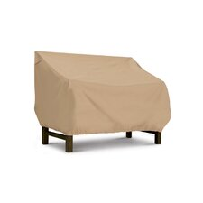 Terrazzo Collection Bench / Loveseat Cover in Tan, Large