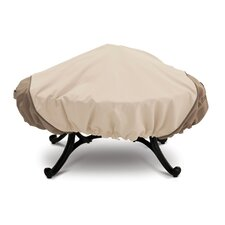 Veranda Collection X Large Stand Up Fire Pit Cover in Pebble