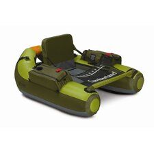 "Fish Cumberland ""Back-Packable"" Float Tube in Apple Green and Olive"