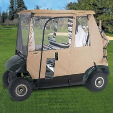 Fairway Deluxe 3 - Sided Golf Car Enclosure
