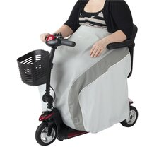 Zippidy Mobility Scooter and Wheelchair Lap Blanket in Pearl Grey and Pewter