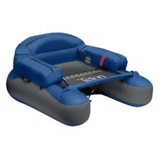 Teton Float Tube in Blue and Grey