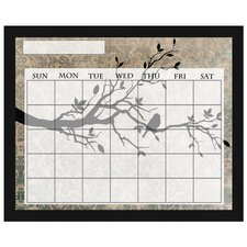 Bird on Branch Calendar Board