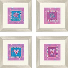 Girl Power Framed Art (Set of 4)