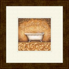 Bain De Mousse A Framed Painting Print