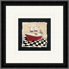 Old Fashioned Tub B Framed Painting Print