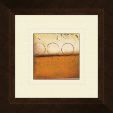 Harvest Spice A Framed Painting Print