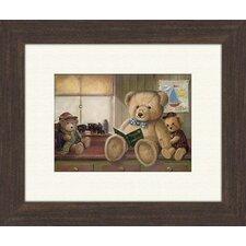 Bear Stories B Framed Art