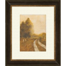 <strong>Pro Tour Memorabilia</strong> Traveled Path B Framed Art