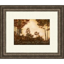 The Journey A Framed Painting Print