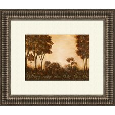 The Journey B Framed Painting Print