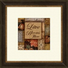<strong>Pro Tour Memorabilia</strong> Home and Love B Framed Art