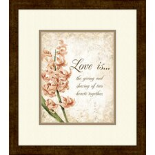 <strong>Pro Tour Memorabilia</strong> Love Is… A Framed Art