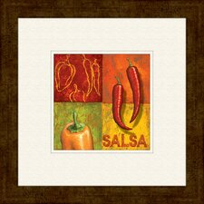 Chili A Framed Graphic Art