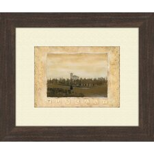 <strong>Pro Tour Memorabilia</strong> Memories of Tuscany A Framed Art