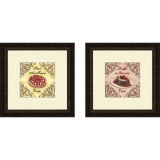 Kitchen French Pastry Framed Art