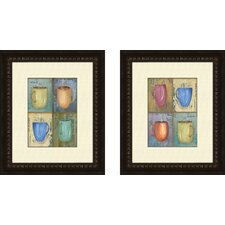 Kitchen Cups Framed Art