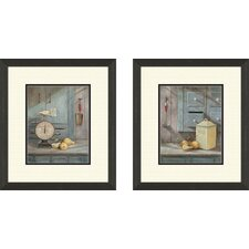 Kitchen Grams Recipe Framed Art (Set of 2)