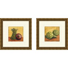 Kitchen Vegetables Framed Art