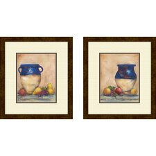 Kitchen Italian Harvest Framed Art (Set of 2)