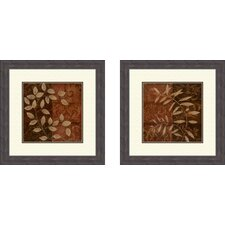 Botanical Autumn Framed Art (Set of 2)