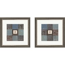 Inspirational Rejuvenate 2 Piece Framed Textual Art Set