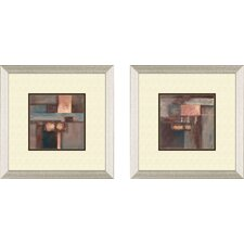 <strong>Pro Tour Memorabilia</strong> Contemporary Fall Framed Art (Set of 2)