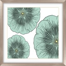 Floral Graphic Art Shadow Box