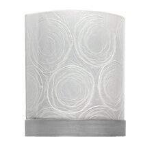 Genesis 2 Light Wall Sconce with Lamp