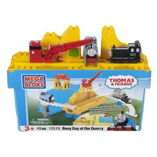 Mega Bloks Large Thomas Bucket-Busy Day at the Quarry