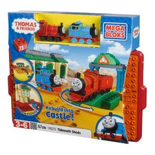 <strong>Mega Brands</strong> Thomas and Friends All Aboard At Tidmouth Sheds