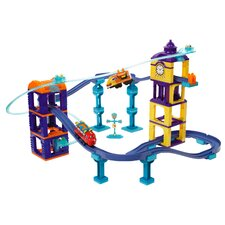 Chuggington Construction Jet Pack Adventure Wilson and Chugger
