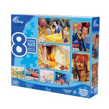 Disney 8 in 1 Multipack Puzzle