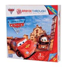 200 Piece 3D Breakthrough Cars Puzzle