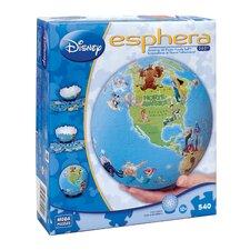 540 Piece Disney Esphera Globe Characters Puzzle
