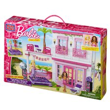 <strong>Mega Brands</strong> Barbie Build 'n Style Beach House