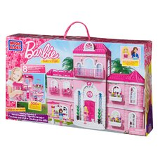 <strong>Mega Brands</strong> Barbie Build 'n Style Luxury Mansion