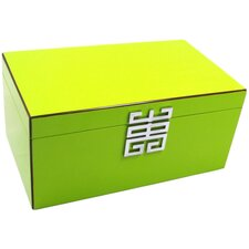 Green Glossy Jewelry Box