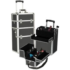 Professional 2-1 Cosmetic Makeup Train Case