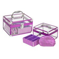 3 Piece Cosmetic Case