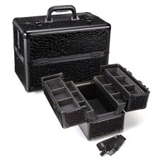 <strong>Seya Inc.</strong> Professional Makeup Cosmetic Train Case